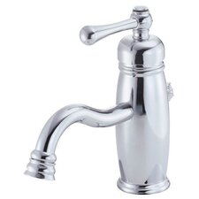 Opulence Single Handle Single Hole Bathroom Faucet