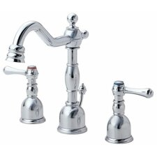 Opulence Double Handle Mini Widespread Bathroom Faucet