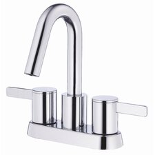Amalfi Double Handle Centerset Bathroom Faucet
