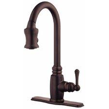 Opulence Single Handle Deck Mount Kitchen Faucet