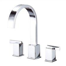Sirius Double Handle Deck Mount Roman Tub Faucet