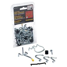 32 Piece Assorted Pegboard Hook Kit