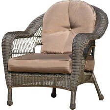 Dining Arm Chairs with Cushions (Set of 2)