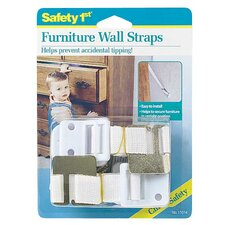 Dorel Juvenile Furniture Wall Strap (Set of 2)