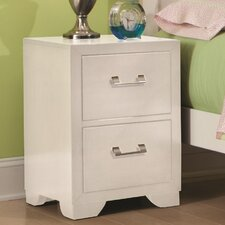 Smart Solutions 2 Drawer Nightstand