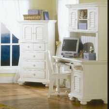 """48"""" Computer Desk with Hutch"""