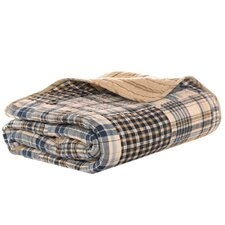 Sandpoint Island Quilted Throw