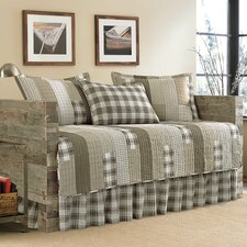 Fairview Sand 5-Piece Quilted Daybed Set