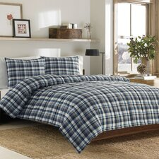 Eddie Bauer Bridgeport Plaid Comforter Set