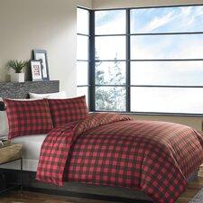 Mountain Plaid 3 Piece Comforter Set