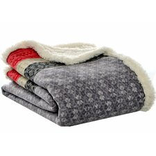 Fairisle Sherpa Throw