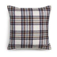 Edgewood Plaid Cotton Throw Pillow