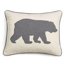 Bear Cotton Lumber Pillow