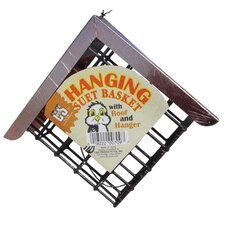 Hanging Suet Cake Bird Feeder