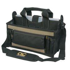 "16"" 15 Pocket Center Tray Tool Bag"