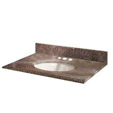 "Montero 25"" Granite Vanity Top with Sink"