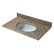 "25"" Single Granite Vanity Top"