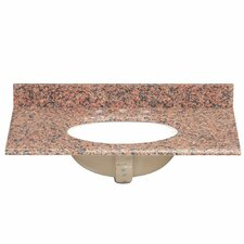 "37"" Single Granite Vanity Top"
