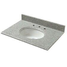 "37"" Single Granite Vanity Top with Basin"