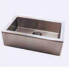 "Apron 33"" x 20"" Single Extra Deep Bowl Kitchen Sink"