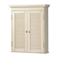 """Cottage 23.75"""" x 29"""" Wall Mounted Cabinet"""