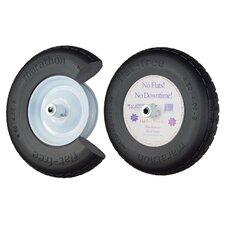 """16"""" Knobby Flat Free Wheelbarrow Tire"""