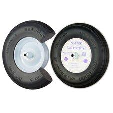 """16"""" Ribbed Flat Free Wheelbarrow Tire"""