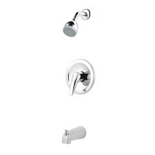 Pfirst Series Thermostatic Tub and Shower Faucet with Lever Handle