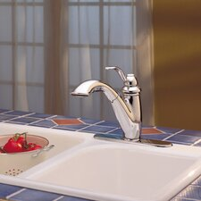 Marielle Single Handle Deck Mounted Kitchen Faucet with Pull Out Spray