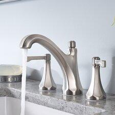 Arterra Double Handle Widespread Bathroom Faucet