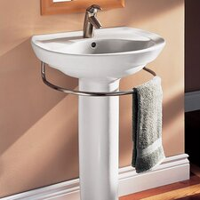 Ravenna Pedestal Bathroom Sink Set