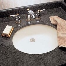 "Ovalyn 17.125"" x 14.125"" Undermount Bathroom Sink"