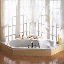"Colony 60"" x 60"" Corner Soaking Bathtub"