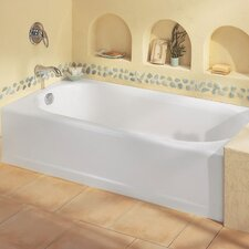 "Princeton 60"" x 30"" Recess Soaking Bathtub with Integral Overflow"
