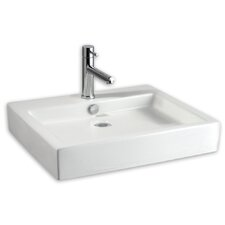 Studio Above Counter Rectangular Bathroom Sink