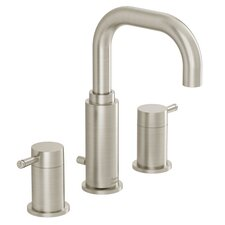 Serin Widespread Bathroom Faucet with Double Lever Handles