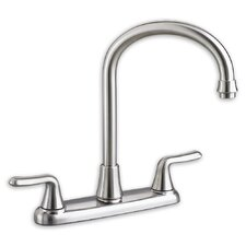 Colony Soft Two Handle Centerset kitchenFaucet