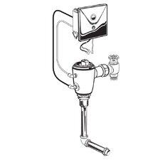 Concealed 0.125 GPF AC Urinal Flush Valve with Back Spud