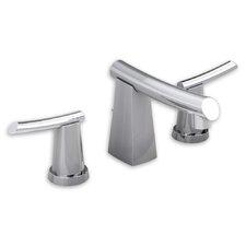 Green Tea Widespread Bathroom Sink Faucet with Double Lever Handles