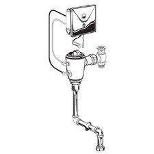 Concealed 1.0 GPF DC Urinal Flush Valve with Topspud