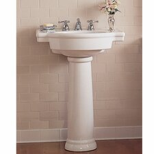 Retrospect Pedestal Bathroom Sink