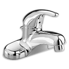 Colony Soft Single Handle Centerset Bathroom Faucet with Pop-up Drain