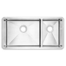 """21.13"""" x 37.5"""" Undermount Kitchen Sink"""