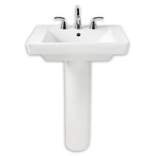 "Boulevard 35.5"" Pedestal Sink with Overflow"