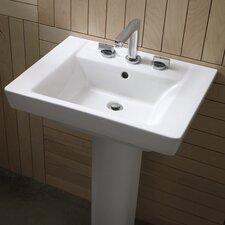 Boulevard Pedestal Bathroom Sink Set
