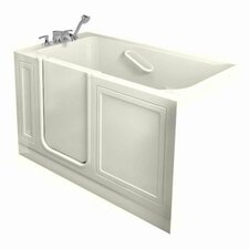 "51"" x 30"" Walk In Combo Whirlpool Bathtub"