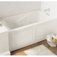 """Evolution 60"""" x 32"""" Whirlpool Salon Spa with Integral Apron and Right Side Outlet"""