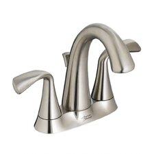 Fluent Centerset Bathroom Faucet Double Handle