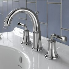 Portsmouth Widespread Bathroom Faucet with Double Lever Handles