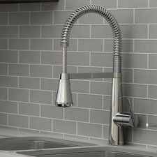 Edgewater Semi-Professional Kitchen Faucet with Select Flo